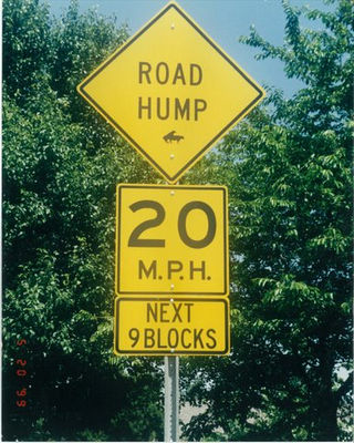 road hump
