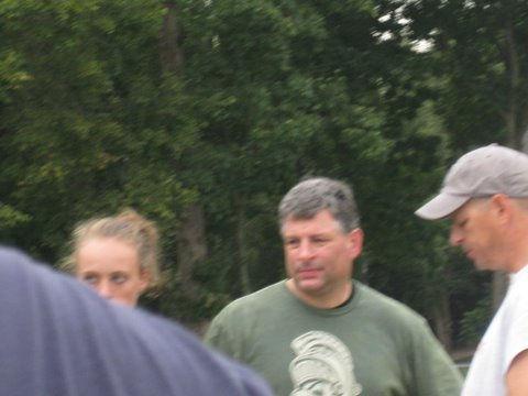 DR. Peter Gorman at the yards