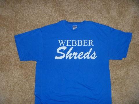webber shreds shirts