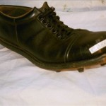 "Autographed Tom Dempsey Kicking shoe  (* pre tractor incident"") $49.99"